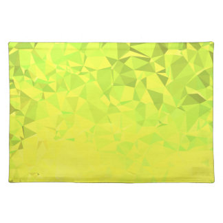 LoveGeo Abstract Geometric Design - Clover Fields Placemat