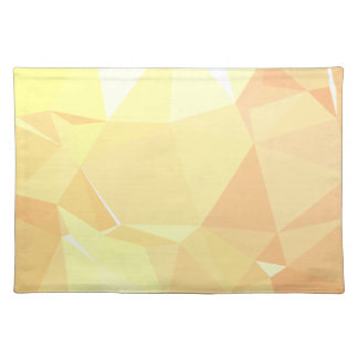 LoveGeo Abstract Geometric Design - Crepe Dessert Placemat