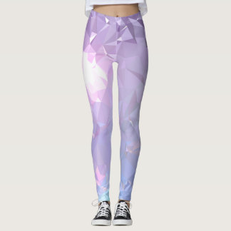 LoveGeo Abstract Geometric Design - Crystal Hope Leggings