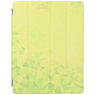 LoveGeo Abstract Geometric Design - Dandelion Lime iPad Cover