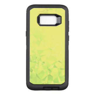 LoveGeo Abstract Geometric Design - Dandelion Lime OtterBox Defender Samsung Galaxy S8+ Case