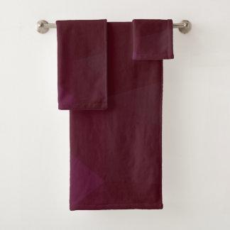 LoveGeo Abstract Geometric Design - Desert Night Bath Towel Set