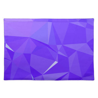 LoveGeo Abstract Geometric Design - Eggplant Athen Placemat