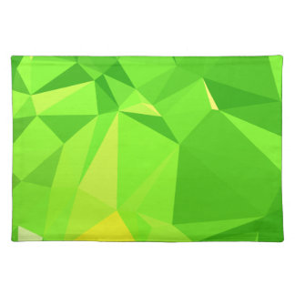 LoveGeo Abstract Geometric Design - Fern Gully Placemat
