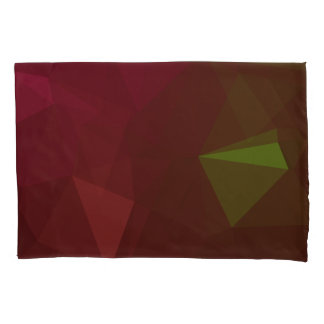 LoveGeo Abstract Geometric Design - Forest Lost Pillowcase