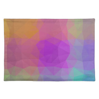 LoveGeo Abstract Geometric Design - Galaxy Worlds Placemat