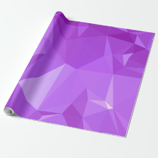 LoveGeo Abstract Geometric Design - Grape Score Wrapping Paper