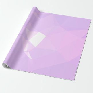LoveGeo Abstract Geometric Design - Lavender Belle Wrapping Paper