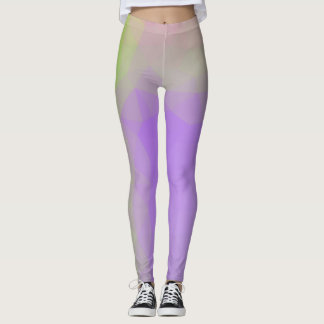 LoveGeo Abstract Geometric Design - Lavender Scent Leggings