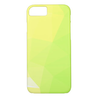 LoveGeo Abstract Geometric Design - Lemon Lime iPhone 8/7 Case