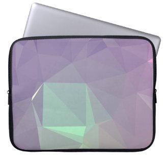 LoveGeo Abstract Geometric Design - Mauve Allure Laptop Sleeve