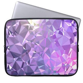 LoveGeo Abstract Geometric Design - Nebula Prairie Laptop Sleeve