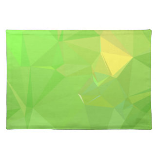LoveGeo Abstract Geometric Design - Pear Ship Placemat