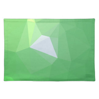 LoveGeo Abstract Geometric Design - Pine Moss Placemat