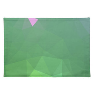 LoveGeo Abstract Geometric Design - Pistachio Hint Placemat