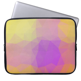 LoveGeo Abstract Geometric Design - Poppy Swing Laptop Sleeve