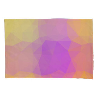 LoveGeo Abstract Geometric Design - Poppy Swing Pillowcase