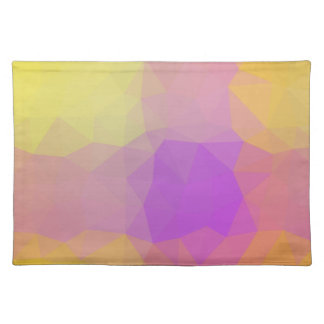 LoveGeo Abstract Geometric Design - Poppy Swing Placemat