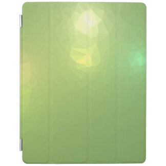 LoveGeo Abstract Geometric Design - Sail Celery iPad Cover