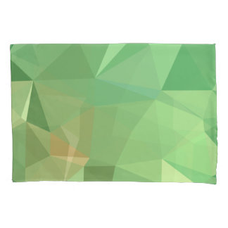 LoveGeo Abstract Geometric Design - Sea Pine Pillowcase