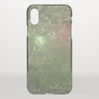 LoveGeo Abstract Geometric Design - Seaweed Brave iPhone X Case