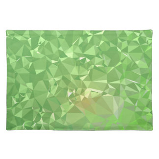 LoveGeo Abstract Geometric Design - Shamrock Gold Placemat