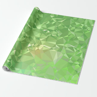 LoveGeo Abstract Geometric Design - Shamrock Gold Wrapping Paper