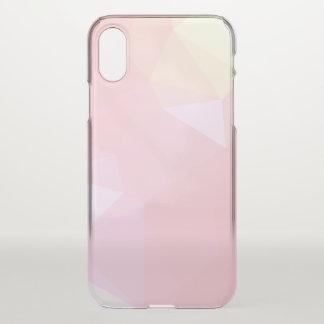 LoveGeo Abstract Geometric Design - Sky Carnation iPhone X Case