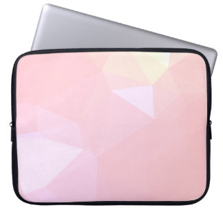 LoveGeo Abstract Geometric Design - Sky Carnation Laptop Sleeve
