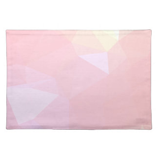 LoveGeo Abstract Geometric Design - Sky Carnation Placemat
