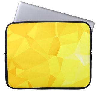 LoveGeo Abstract Geometric Design - Sunflower Tap Laptop Sleeve