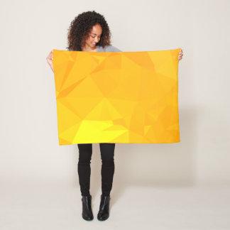 LoveGeo Abstract Geometric Design - Sunrise Capita Fleece Blanket