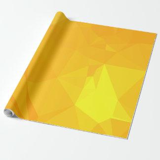 LoveGeo Abstract Geometric Design - Sunrise Capita Wrapping Paper