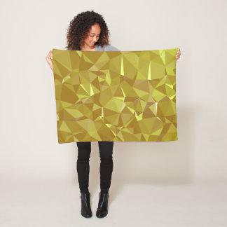 LoveGeo Abstract Geometric Design - Sweet Coffee Fleece Blanket