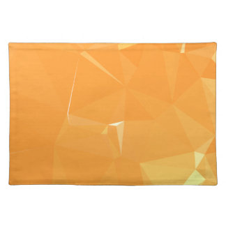 LoveGeo Abstract Geometric Design - Sweet Papaya Placemat