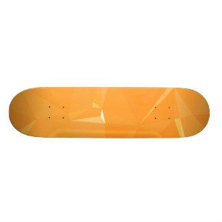 LoveGeo Abstract Geometric Design - Sweet Papaya Skateboard