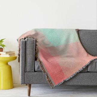 LoveGeo Abstract Geometric Design - Tulip Garden Throw Blanket