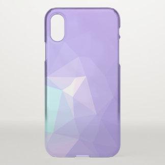 LoveGeo Abstract Geometric Design - Wisteria Iris iPhone X Case
