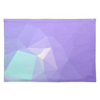 LoveGeo Abstract Geometric Design - Wisteria Iris Placemat