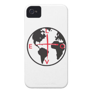LoveGlobe316 - white background Case-Mate iPhone 4 Case