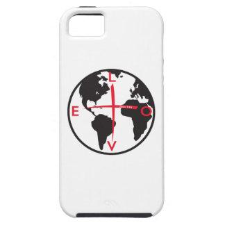 LoveGlobe316 - white background iPhone 5 Cover