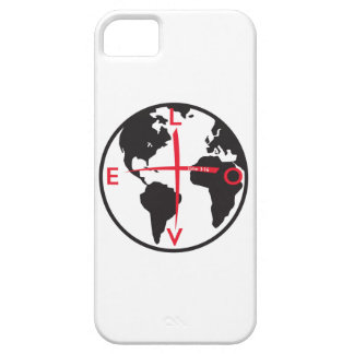 LoveGlobe316 - white background iPhone 5 Covers
