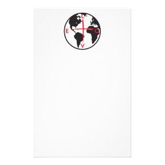 LoveGlobe316 - white background Stationery