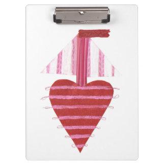 Loveheart Boat Clipboard