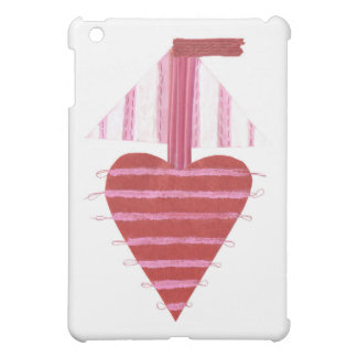 Loveheart Boat I-Pad Mini Back Case For The iPad Mini
