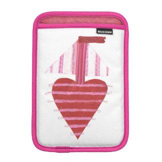 Loveheart Boat I-Pad Mini Case
