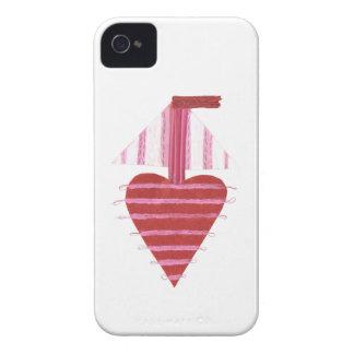 Loveheart Boat I-Phone 4 Case