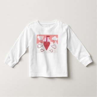 Loveheart Boat Kid's Jumper Toddler T-shirt