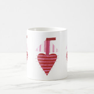 Loveheart Boat No Background Mug