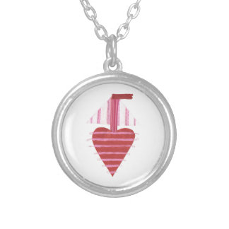 Loveheart Boat No Background Necklace